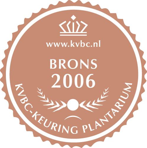 Brons Plantarium 2006