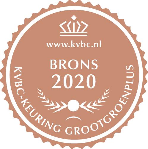 Brons GrootGroenPlus 2020