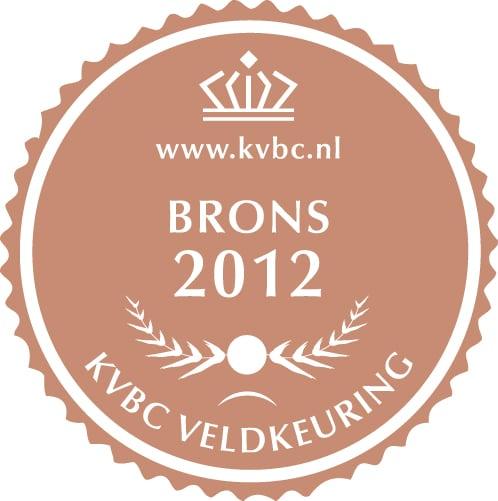 Brons KVBC Veldkeuring 2012