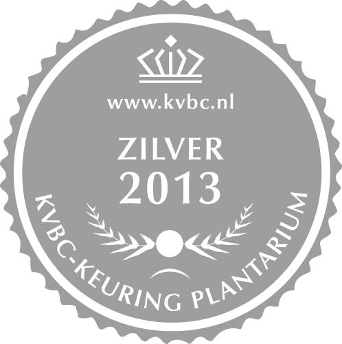 Zilver Plantarium 2013
