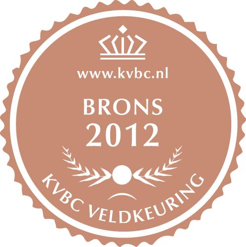 Brons Veldkeuring KVBC 2012