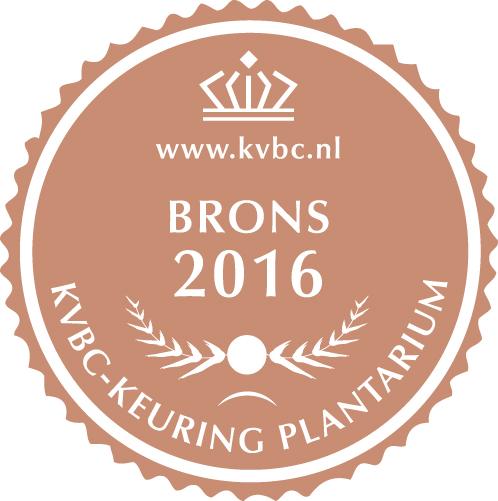 Brons Plantarium 2016
