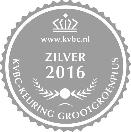 Zilver GrootGroenPlus 2016