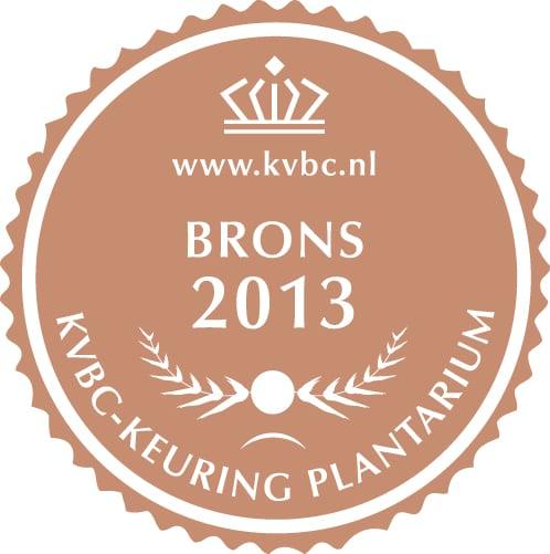 Brons Plantarium 2013