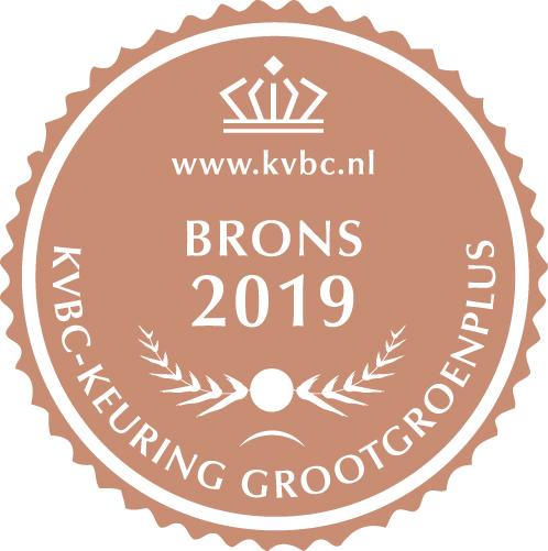 Brons GrootGroenPlus 2019
