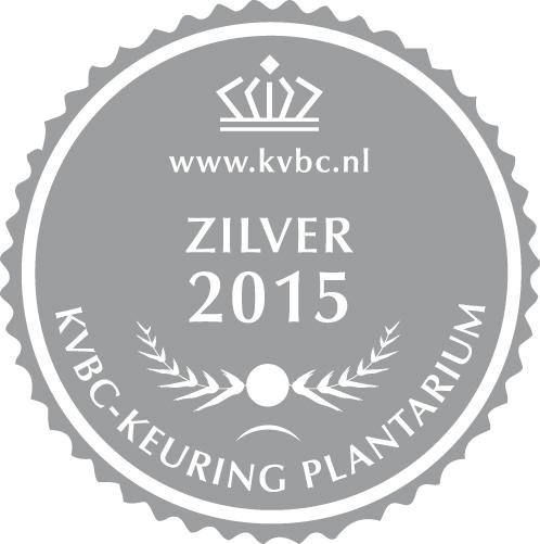 Zilver Plantarium 2015