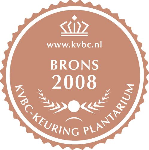 Brons Plantarium 2008