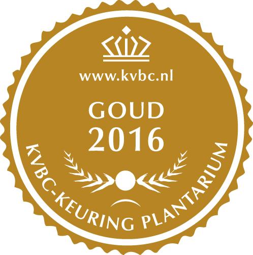 Goud Plantarium 2016