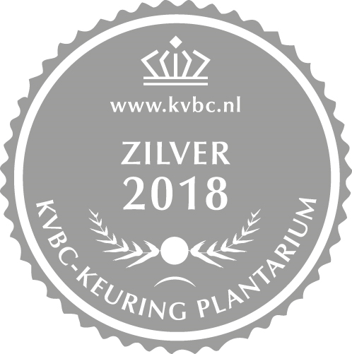 Zilver Plantarium 2018
