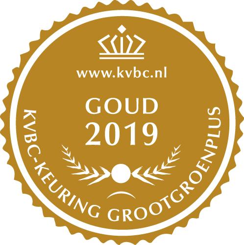 Goud GrootGroenPlus 2019