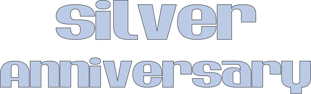 logo-Buddleja Silver Anniversary