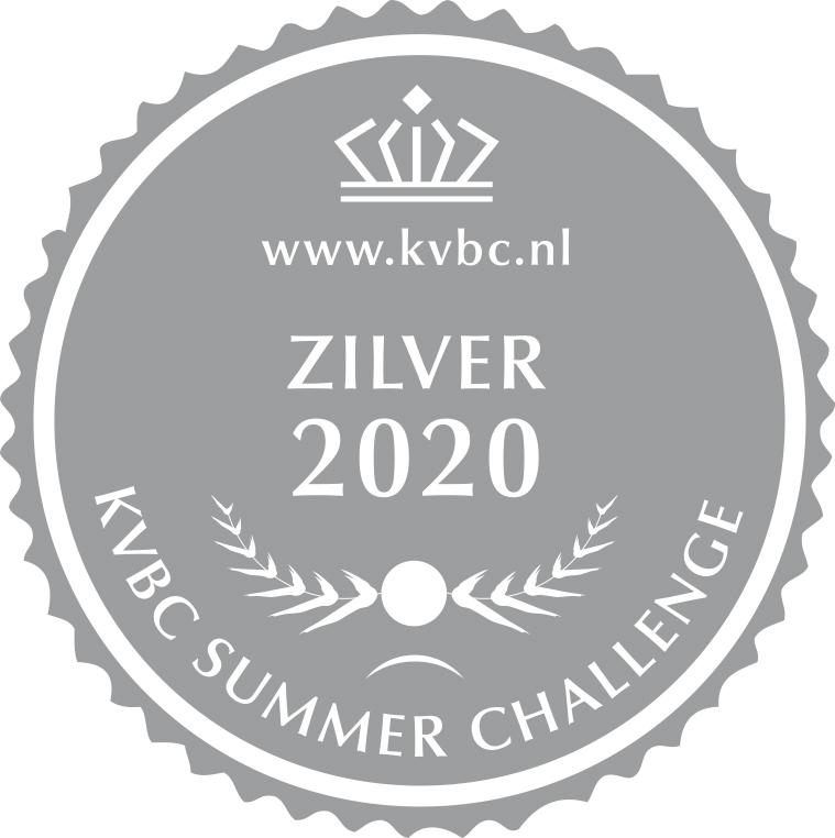 Zilver KVBC Summer Challenge 2020