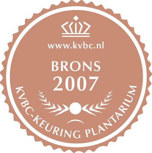 Brons Plantarium 2007