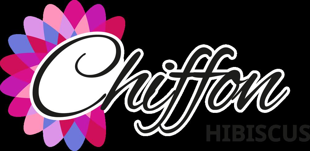 logo-Hibiscus Starburst Chiffon