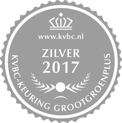 Zilver GrootGroenPlus 2017