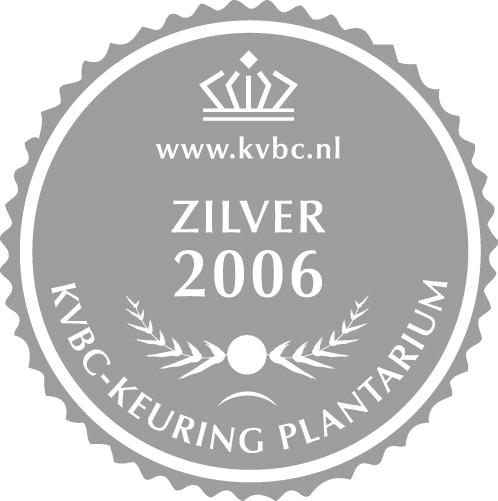 Zilver Plantarium 2006