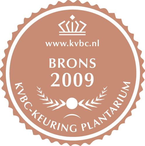 Brons Plantarium 2009