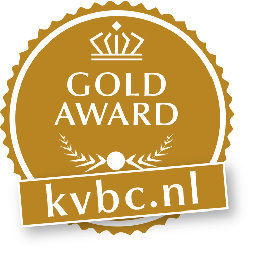 KVBC Award Goud