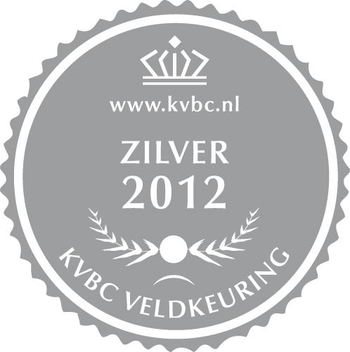 Zilver KVBC Veldkeuring 2012