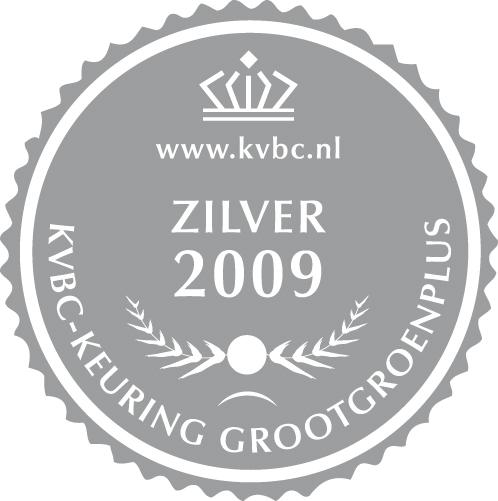 Zilver GrootGroenPlus 2009