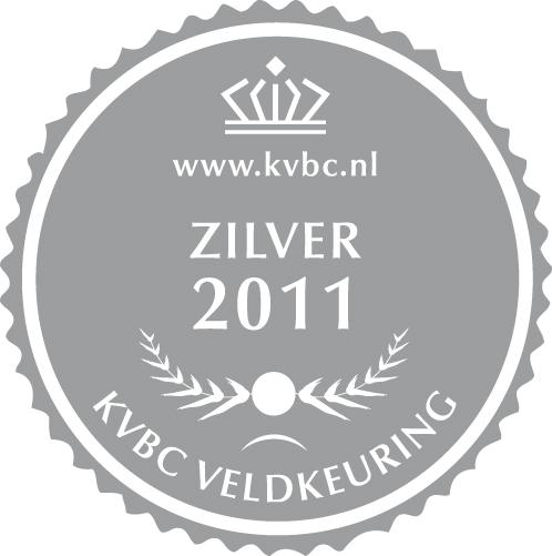 Zilver Veldkeuring KVBC 2011