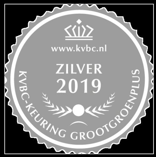 Zilver GrootGroenPlus 2019