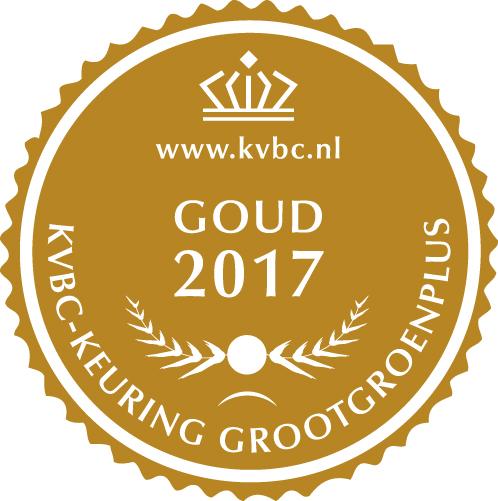 Goud GrootGroenPlus 2017