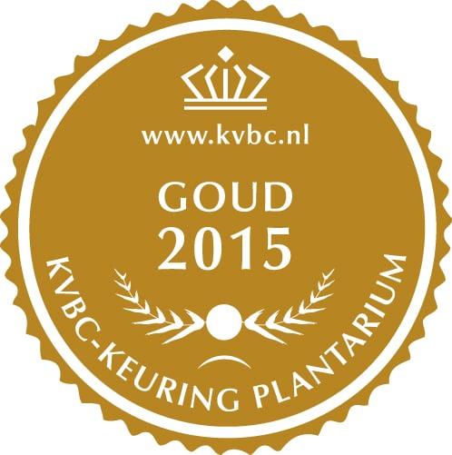 Goud Plantarium 2015