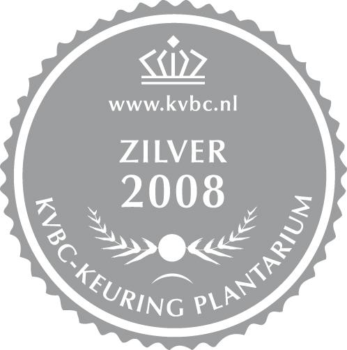 Zilver Plantarium 2008