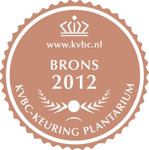 Brons Plantarium 2012