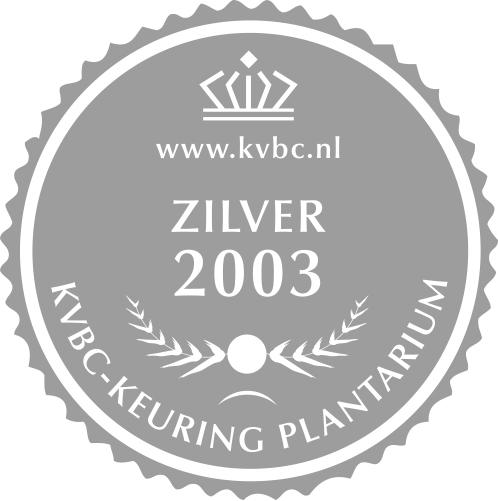 Zilver Plantarium 2003