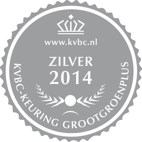 Zilver GrootGroenPlus 2014