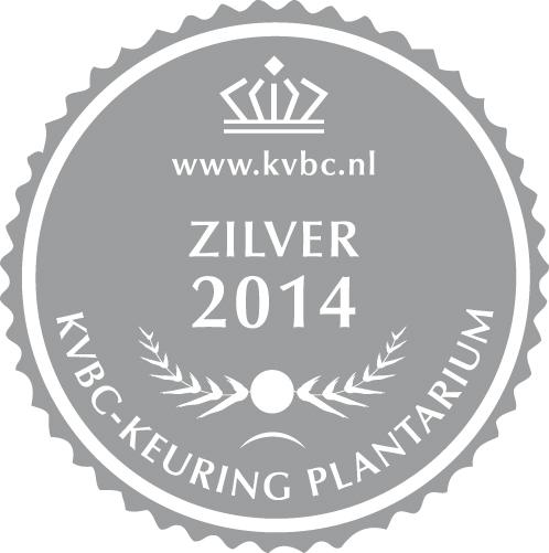 Zilver Plantarium 2014