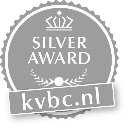 KVBC Award Zilver