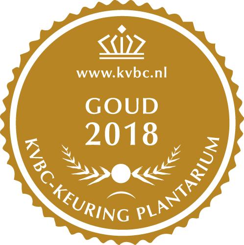 Goud Plantarium 2018