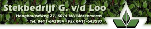 Stekbedrijf G. van der Loo